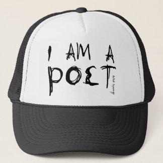 I AM A POET TRUCKER HAT