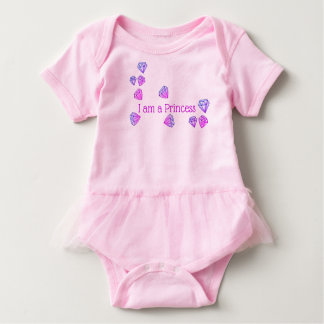 """ I am a Princess"" Baby Outfit Baby Bodysuit"