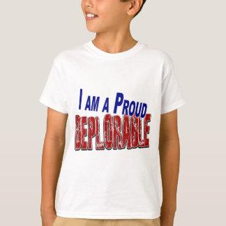 I Am A Proud DEPLORABLE T-Shirt