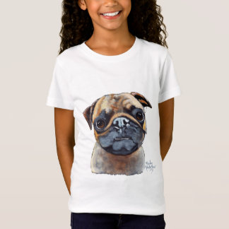 I AM A PUG by Shirley MacArthur T-Shirt