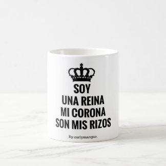 I am a queen coffee mug