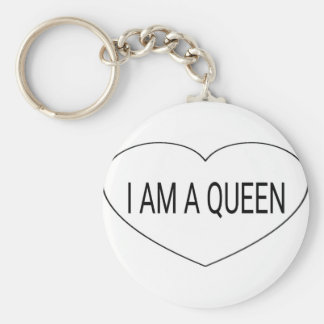 I am a Queen Keychain