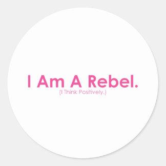 I am a Rebel Sticker