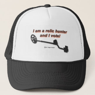 I am a relic hunter and I vote Trucker Hat