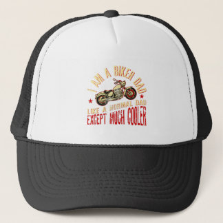 I Am A Rider Dad Like A Normal Dad Except Much Coo Trucker Hat