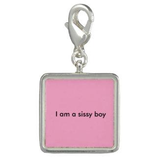 """""""I am a sissy boy"""" key chain Charm"""