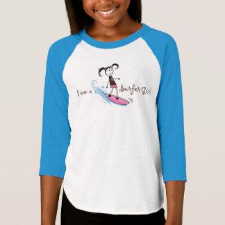 """""""I am a Surfer"""" Girl T-Shirt"""