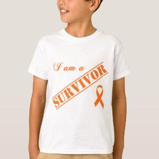 I am a Survivor - Orange Ribbon T-Shirt
