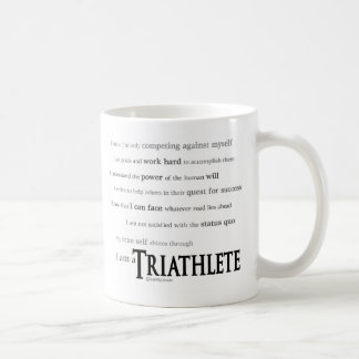 I am a Triathlete Coffee Mug