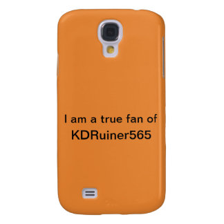I am a true fan of KDRuiner565 Case (S4) (Orange)