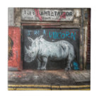 I Am A Unicorn, Shoreditch Graffiti (London) Tile