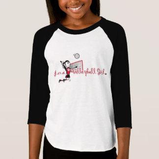"""""""I am a Volleyball"""" Girl T-Shirt"""