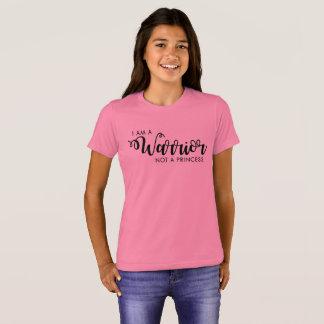 I am a Warrior not a Princess Kid's Shirt