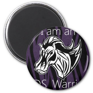I am a warrior.png magnet