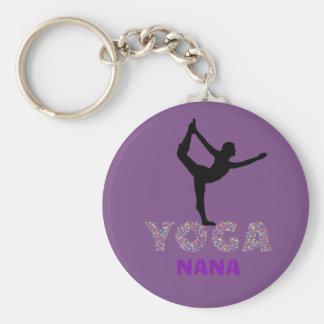 I AM A YOGA NANA * Key Chain