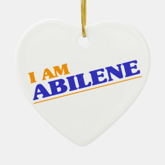 I am Abilene Ceramic Ornament