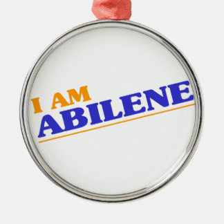 I am Abilene Metal Ornament