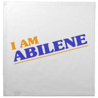 I am Abilene Napkin