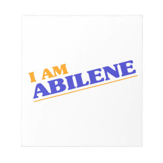 I am Abilene Notepad