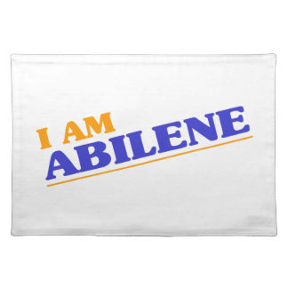 I am Abilene Placemat