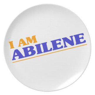 I am Abilene Plate