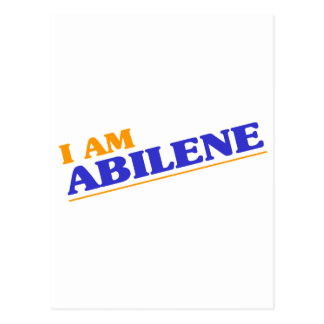 I am Abilene Postcard