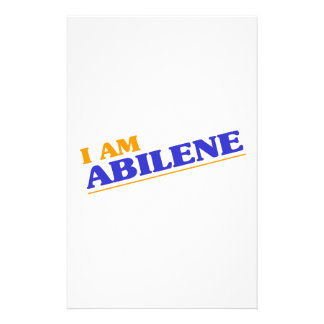 I am Abilene Stationery