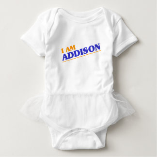 I am Addison Baby Bodysuit