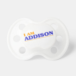 I am Addison Baby Pacifier