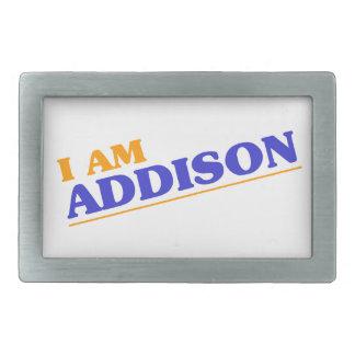 I am Addison Belt Buckle