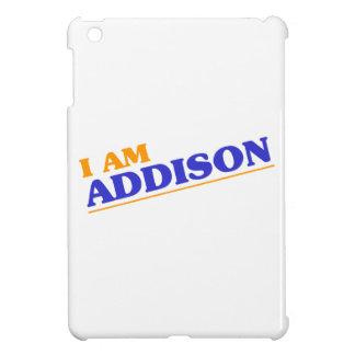 I am Addison iPad Mini Cover