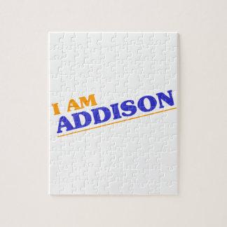 I am Addison Jigsaw Puzzle