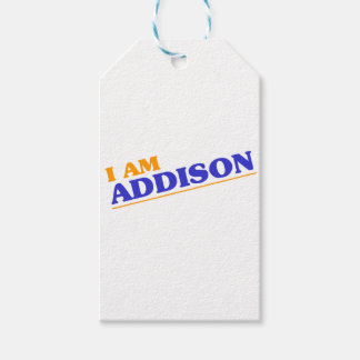 I am Addison Pack Of Gift Tags