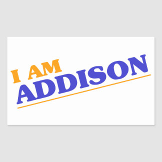 I am Addison Sticker