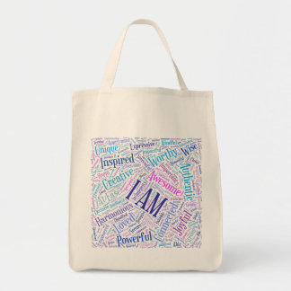 I Am Affirmations Tote