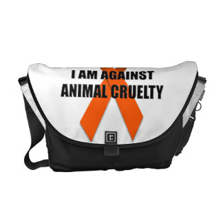 I Am Against Animal Cruelty Courier Bag