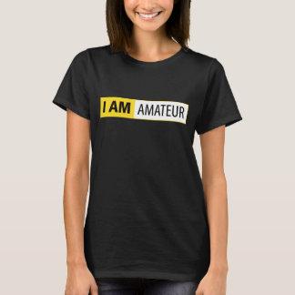 I AM AMATEUR | I AM NIKON SERIES T-SHIRTS