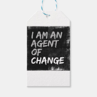 I Am An Agent of Change Gift Tags