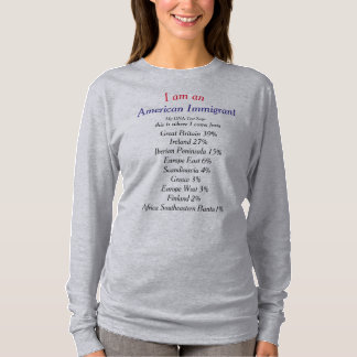 I am an American Immigrant customized T-Shirt