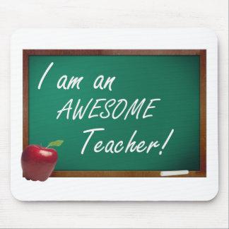 i am an awesome teacher mouse pad