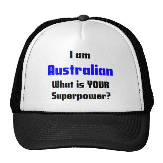 i am australian trucker hat