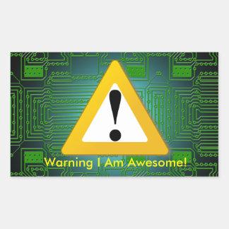 I Am Awesome Sticker!
