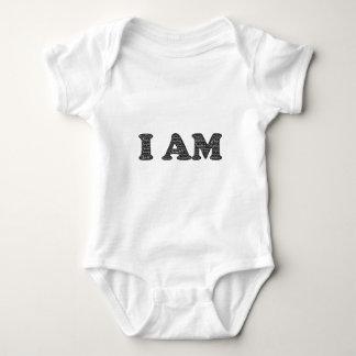 i-am baby bodysuit