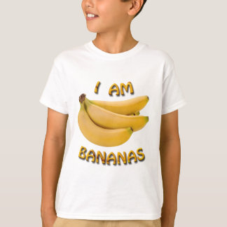 I Am Bananas Kid's T Shirt