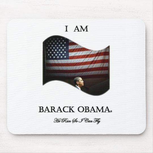 I Am Barack Obama (colour) Mouse Pad