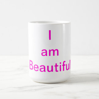 I am Beautiful Coffee Mug