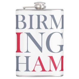 I Am Birmingham Flask