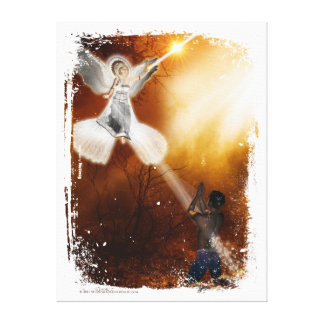 I Am Blessed Canvas Print
