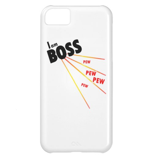 I am boss iPhone 5C cover