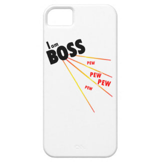 I am boss iPhone 5 cases